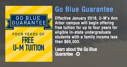 Go Blue Guarantee