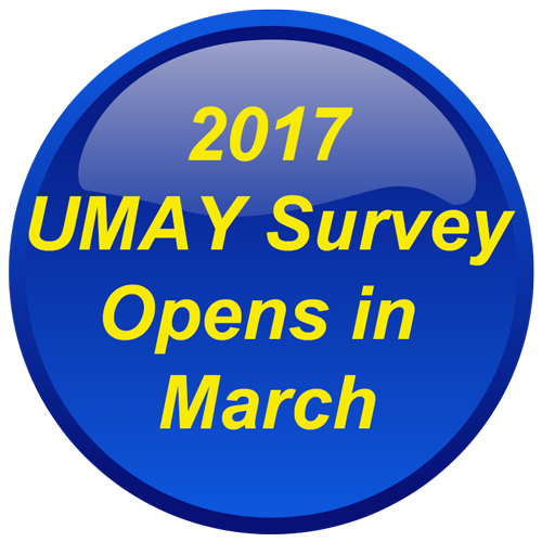 2017 UMAY Survey opens in March