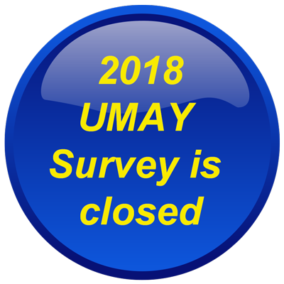 2018 UMAY Survey is closed